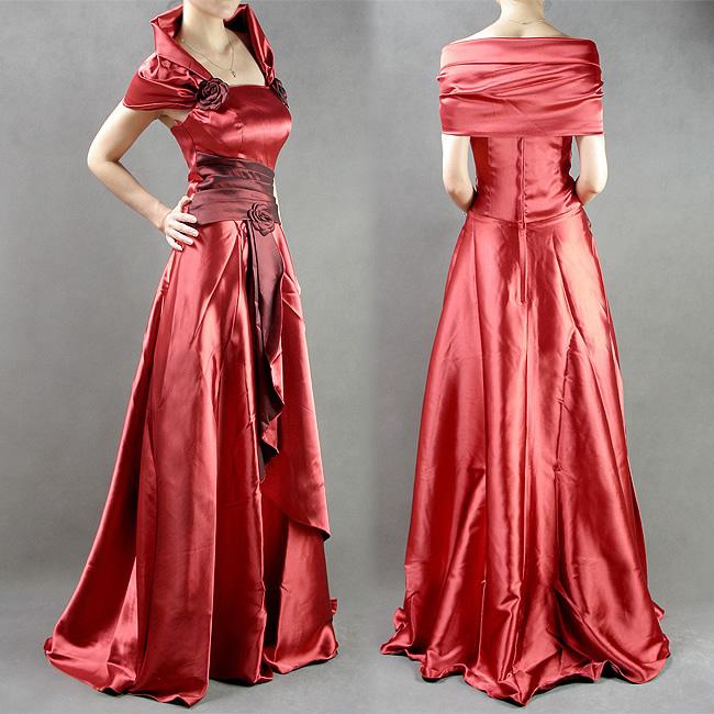 Платье на выпускной из шелка